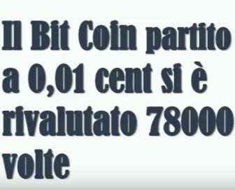 crescita bitcoin
