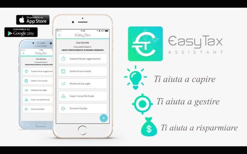 Risparmiare sulle tasse utilizzando l'app Easy Tax Assistant
