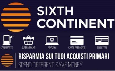 Procedura guidata per iscriversi a Sixthcontinent